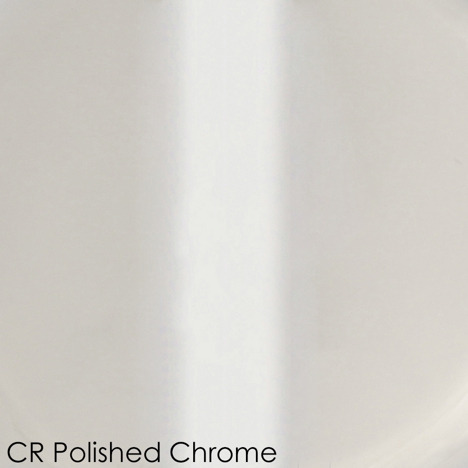 CR - polished chrome
