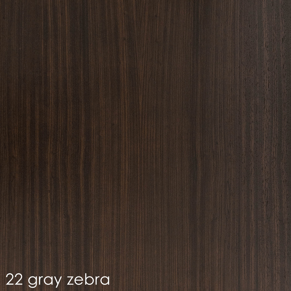 22 - gray zebra stain