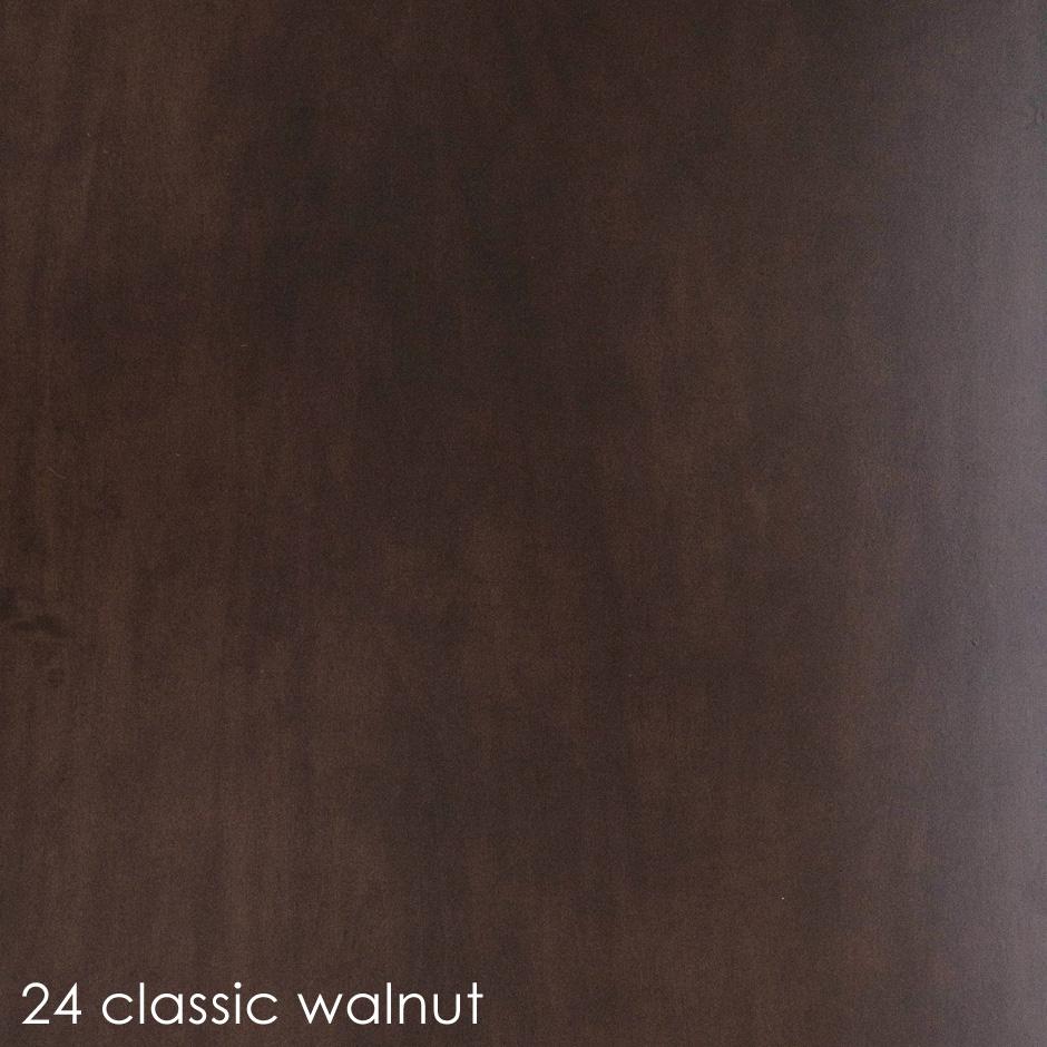 24 - classic walnut stain