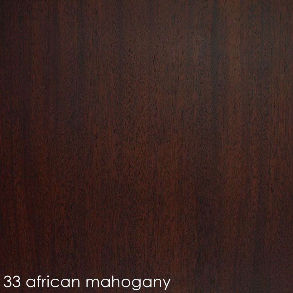 33 - african mahogany
