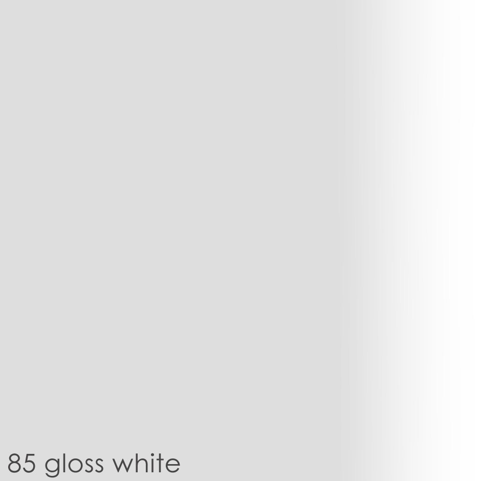 85 - gloss white paint